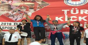 Haliliye Belediyesi Kick Boksta Madalyaları Topladı
