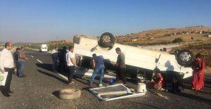 Urfa'da feci kaza,11 yaralı