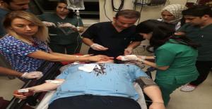 Urfa'da Acil Doktora Saldırı
