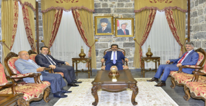 Yargıtay üyeliğine seçilen Şanlıurfa Başsavcı Doğan, Diyarbakır Valisini ziyaret etti