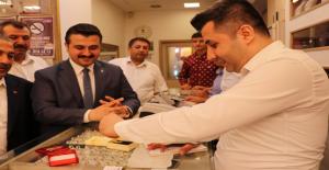 Şanlıurfa AK Parti İl Başkanı Yıldız Soluğu Dövizcide Aldı