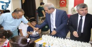 Haliliye Belediyesi Okullara Temizlik Malzemesi Dağıttı