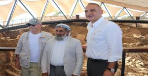Kültür Bakanı Ersoy Şanlıurfa Müzesini Ve Göbeklitepe'yi Gezdi