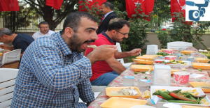 Şanlıurfa'da Ahilik Haftasında Tirit Dağıtıldı