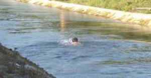 Viranşehirde Sulama Kanalı Can...
