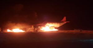 GAP Havalimanında Gerçeği Aratmayan Yangın Tatbikatı