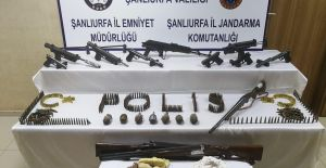 Urfa'da Terör Operasyonu Çok Sayıda Gözaltı Ve Mühimmat Ele Geçirildi