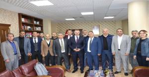 Gazetecilerden Başsavcı Öztoprak'a Ziyaret