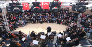 Göbeklitepe'de  Çukurova Senfoni Orkestra Konseri