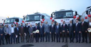 Hibe Edilen Araçlar İlçe Belediyelerine Teslim Edildi