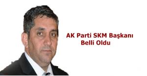 AK Parti SKM başkanı Bekir Kan oldu