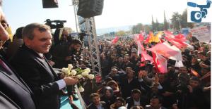 Beyazgül'e Şanlıurfa'da Coşkulu Karşılama