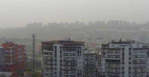 Şanlıurfa'da sis bulutu