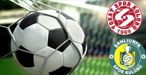 Tokatspor 1-1 Şanlıurfaspor