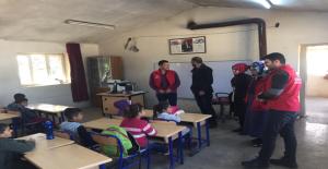 Karaköprü GM Ve TFFHGD'den Bilgiç İlkokuluna Yardım Eli