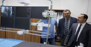 Mehmet Akif İnan Hastanesinde Anjiografi Ünitesi Açıldı
