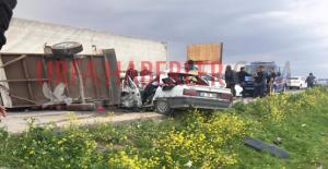 Şanlıurfada Trafik Kazası, 2...