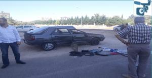 Şanlıurfa'da 3 Kişinin Yaralandığı Kaza Güvenlik Kameralarına Yansıdı