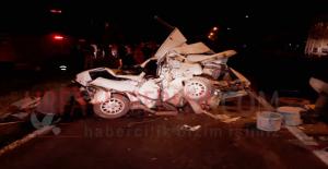 Urfa'da Kamyon Üç Otomobili Çarparak Durabildi, 3 Yaralı
