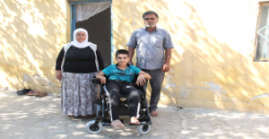 Abdulkadir, Okuluna Artık Akülü Sandalyesi...