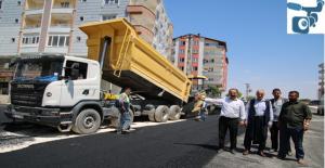 Büyükşehir'den Siverek'te Asfalt Atağı