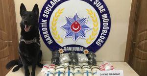 Urfa'da 4 Milyon 500 Bin Liralık Uyuşturucu Operasyonu