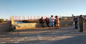 Urfa#039;da Sulama Kanalına Düşen...