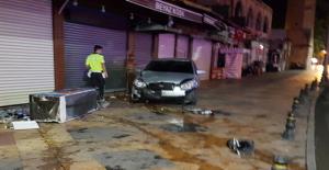 Urfa'da Sürücü Hızını Alamadı