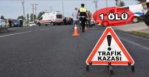 Urfada Trafik Kazası, 1 Ölü,...