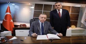 Cumhurbaşkanı Erdoğan'ın Şanlıurfa Temasları