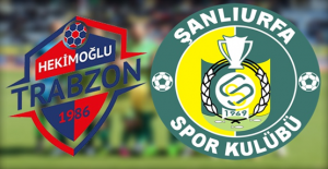 Hekimoğlu Trabzon - Şanlıurfaspor