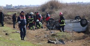 Harran Kavşağında Kaza, 8 Yaralı