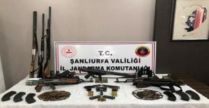 Urfa#039;da Silah Operasyonu, 3 Gözaltı
