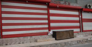Urfa'da şehitler için kepenk kapattılar
