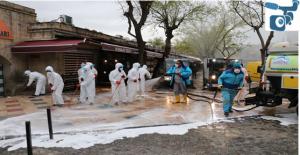 Eyyübiye Belediyesi İlçede Temizlik Seferberliğini Sürdürüyor
