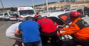 Urfa'da Sıkışmalı Kaza