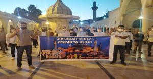 """AK Parti Gençlik Kollarından """"Ayasofya"""" için şükür duası"""