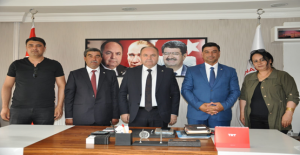 Başkan Aslan'ın  Ankara'da Temasları