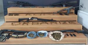 Siverek'te silah kaçakçılarına operasyon