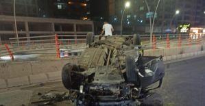 """Karaköprü""""de trafik kazası"""