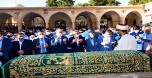 Urfalı alim özel izinle dergah camisinde defin edildi