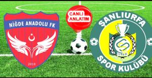 Niğde Anadolu FK - Şanlıurfaspor