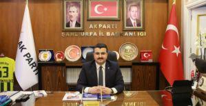 Şanlıurfa AK Parti il başkanlığında flaş gelişme!