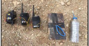 Şanlıurfa sınırında el yapımı bomba ele geçirildi