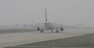 Şanlıurfa'da uçak seferleri ertelendi