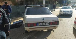 Urfa'da otomobil bariyerler çarptı