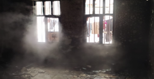 Urfa'da çıkan kıvılcımlar yangına neden oldu
