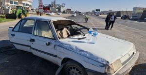 Urfa'da iki otomobil çarpıştı, 6 yaralı