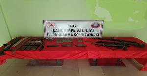 Şanlıurfa'da silah kaçakçılarına operasyon,  8 gözaltı
