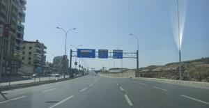 Urfa'da cadde ve sokaklar sessizliğe büründü